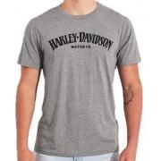 Camiseta Masculina - Motivo Harley-Davidson - Cinza Mod 08 - 026/86703