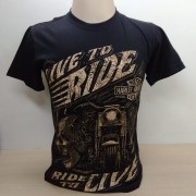 Camiseta Masculina - Motivo Harley-Davidson Live to Ride - 026/25108