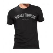 Camiseta Masculina - Motivo Harley-Davidson - Preta Mod 08 - 026/94002