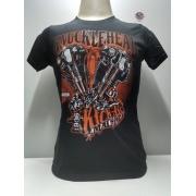 Camiseta Masculina - Motivo Harley-Davidson - Preta Mod 16 - 026/12208