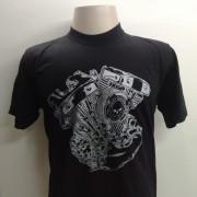 Camiseta Masculina - Motivo Harley-Davidson V-Twin - 026/41303