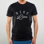 Camiseta Preta Ride and Live - NOISE - 100% Algodão - 026/77601