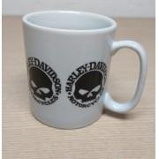 Caneca em Porcelana Branca - Motivo Willie G Skull - Vários - 022/35501