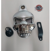 Capa de Buzina - HD Multifit - Crânio Macaco - Alumínio - 006/30607