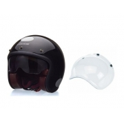 Capacete Lucca Sublime Blackout Glossy Black - 027/71409