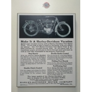 Chapa Decorativa - Motivo Harley-Davidson - MDF 40 X50 CM - Modelo 02 - 034/06607