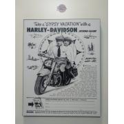 Chapa Decorativa - Motivo Harley-Davidson - MDF 40 X50 CM - Modelo 14 - 034/79401