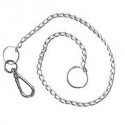 Corrente Para Carteira com Prendedor Pequeno - Aço Cromado - 50cm - 022/81009