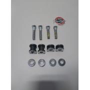 Dockings de 4 pontos para Sissy Bar - HD Softail Breakout - Cromado - 007/11303