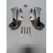 Dockings para Sissy Bar - Cromado - HD Touring 2009 à 2013 - 4 Pontos - 007/91507