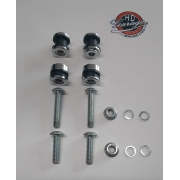 Dockings para Sissy Bar JJ Custom - HD Sportster - 4 pontos - 007/68002