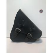 Bolsa de Balança Couro Preto - HD Softail - 3 litros - 008/50000