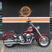 Harley-Davidson Fat Boy FLSTF 2017/2017 - Vermelha - 036/73203