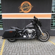 Harley-Davidson Street Glide Flhx - 2012/2012 - Preta - 036/12003
