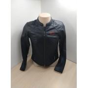 Jaqueta Feminina de Couro Harley-Davidson - Tam M/M - Preta - 042/22504