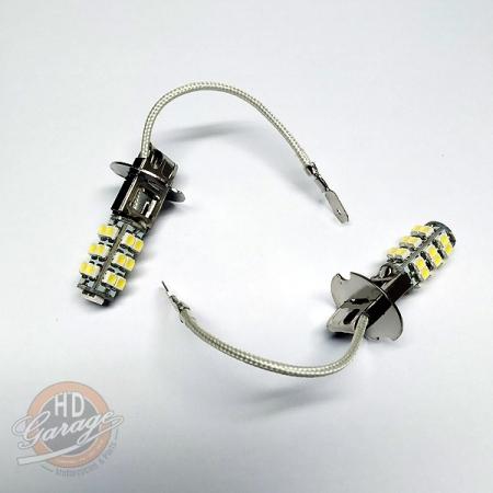 Lampada de LED para Farol Auxiliar - Branca - 12 Volts - Par - 001/42406