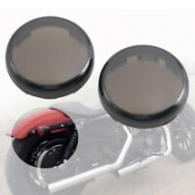Lentes Fume Pisca - HD Softail/Dyna/Sportster - 2 unid. - 001/88308