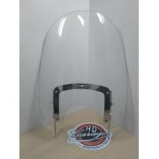 Parabrisa Policarbonato Cristal - Perfil Alto - HD Softail 2000 - 2017 Acima - Destacável - 011/59442