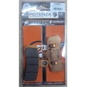 Pastilha de Freio Dianteira - HD Dyna 08-17 / Softail 08-17 - Potenza PTZ525HD Beastbone - HH Sinterizada - 005/81367