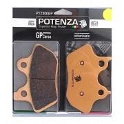 Pastilha de Freio Dianteira/Traseira - Todas HD - Ver Tabela - Potenza PTZ500 GP - HH Sinterizada - 005/03441
