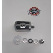 Pedal de Câmbio Motivo Skull - HD Multifit - Cromado - 015/79805