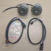 Piscas Dianteiros de LED - Harley-Davidson - Multifit - Fumê - Par - 001/49009