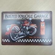 Placa Decorativa Retrô Vintage em Metal - Mod 08 - 022/80305