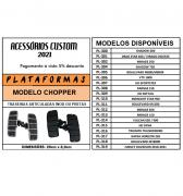 PLATAFORMAS TRASEIRAS ARTICULADAS - MODELO CHOPPER - INOX OU PRETAS - 015/23503 PRODUTO SOB ENCOMENDA