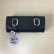 Porta Ferramentas Em Couro - Motivo Bar&Shield - Tam Grande - Preto - 008/47000