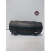 Porta Ferramentas Em Couro - Motivo Bar&Shield - Tam Pequeno - Preto - 008/92902