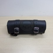 Porta Ferramentas Em Couro - Motivo Skull - Tam Pequeno - Preto - 008/30206