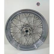 Roda Dianteira Raiada - HD Softail Heritage - Aro 16 - Cromada - 019/88405