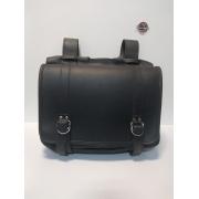 Saddle Bags em Couro Preto - Rider Classic - HD Softail - Par - 008/54002
