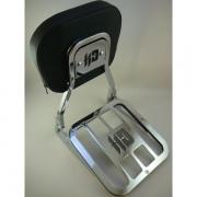Sissy Bar JJ Custom - Modelo Tubular e Destacável - HD Sportster 2004 e Acima - Cromado - 007/19206