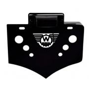 Suporte de Placa Lateral HD Sportster - Wings Custom - Preto - 001/70901