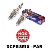 Vela de Ignição NGK Iridium - Harley - Davidson - DCPR8EIX 6546 - Par - 014/21601
