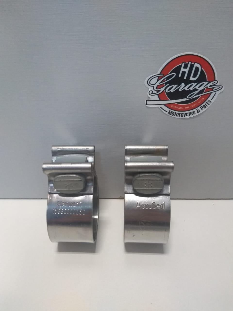 Abraçadeiras de Fixação de Ponteiras - HD Sportster/Dyna/Softail/Touring - Par - 004/27807