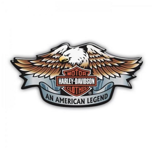 Adesivo Resinado An American Legend - 12x6 cm - STHD0002RP