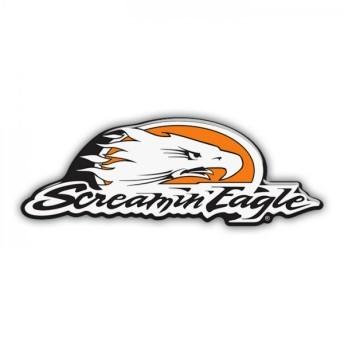 Adesivo Resinado Screamin Eagle - 11x4 cm - STHD0062RP
