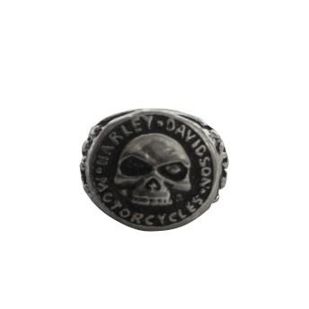 Anel em Aço Inoxidável - Logo Skull - 022/87706