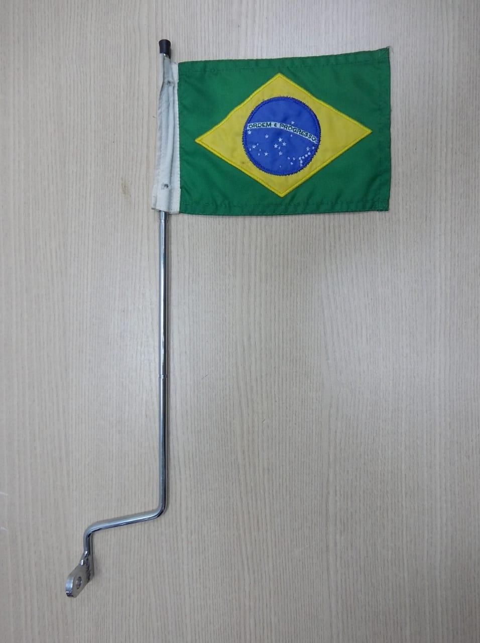 Bandeira do Brasil para Espada com Suporte para Fixação - HD Multifit - 012/28605