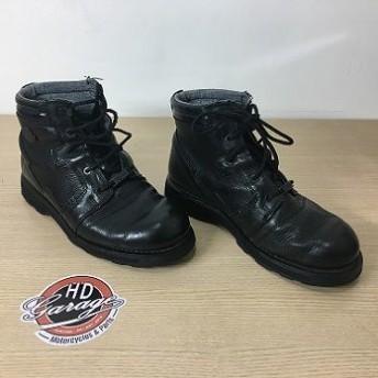 Bota De Couro Masc - Cano Médio - Harley-Davidson - Preta - Tam 43 - 021/82806
