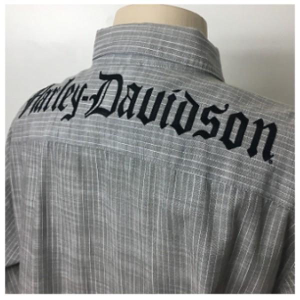 Camisa Manga Longa - Harley-Davidson - Cinza Claro - 026/13365