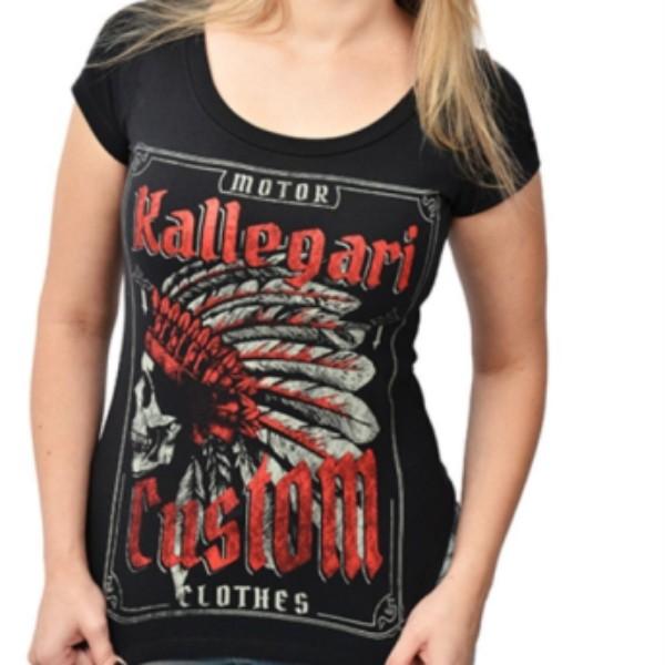 Camiseta Fem - Indian Skull - 040/78965