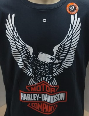 Camiseta Masculina - Motivo Harley-Davidson Eagle - 026/65409