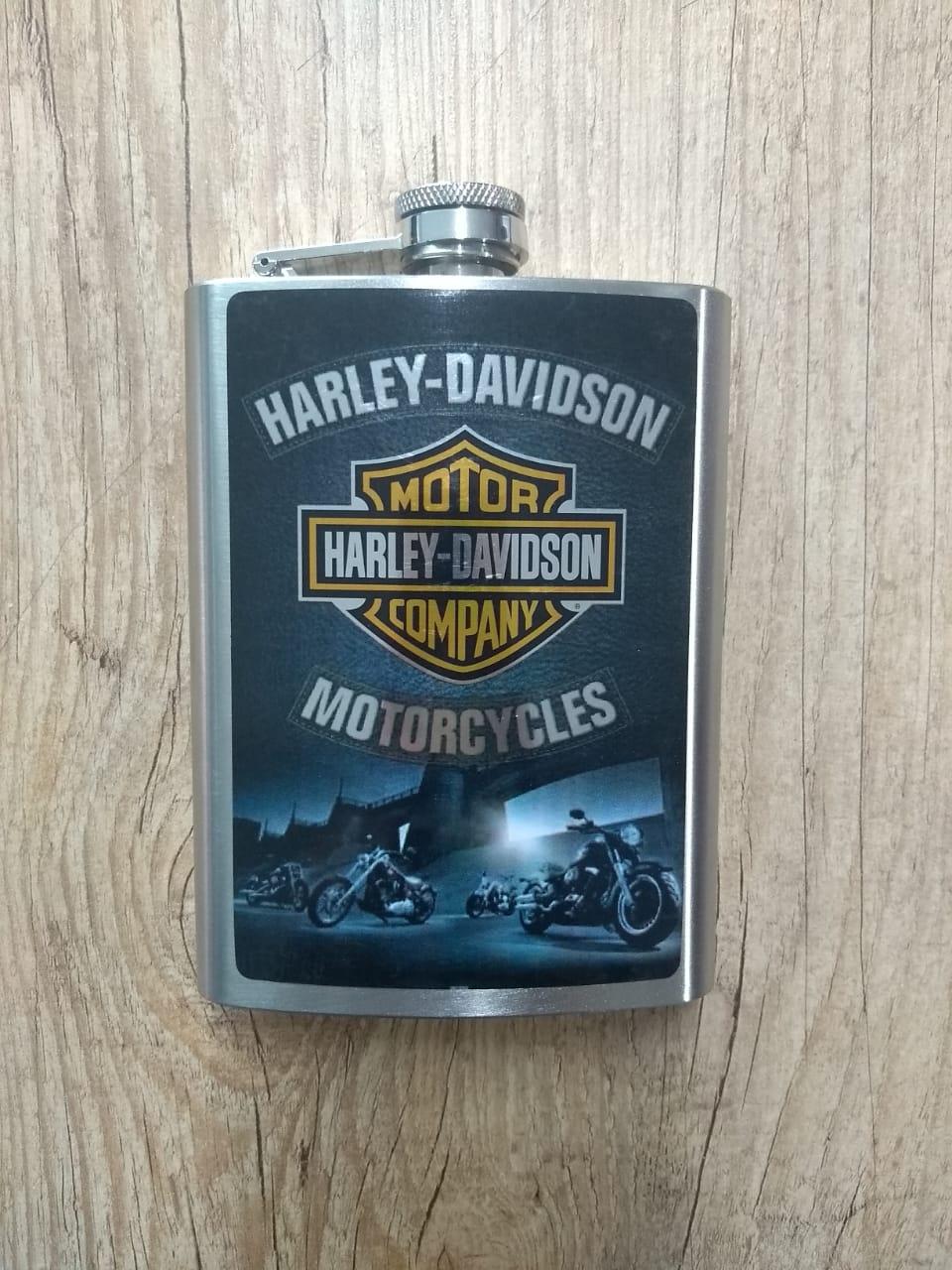 Cantil em Metal - Motivo Harley-Davidson - Mod 02 - 022/99200