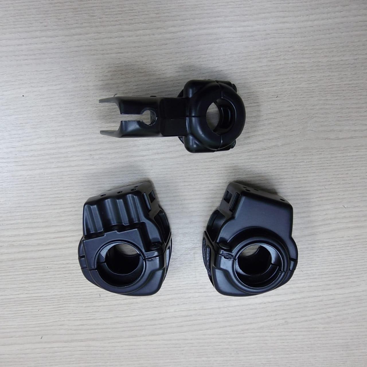 Capas dos Controles de Comando - HD Touring - Pretas - Par - 009/36567