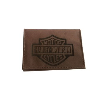 Carteira Porta Documento Em Couro Marrom Médio - Bar & Shield - 022/33444