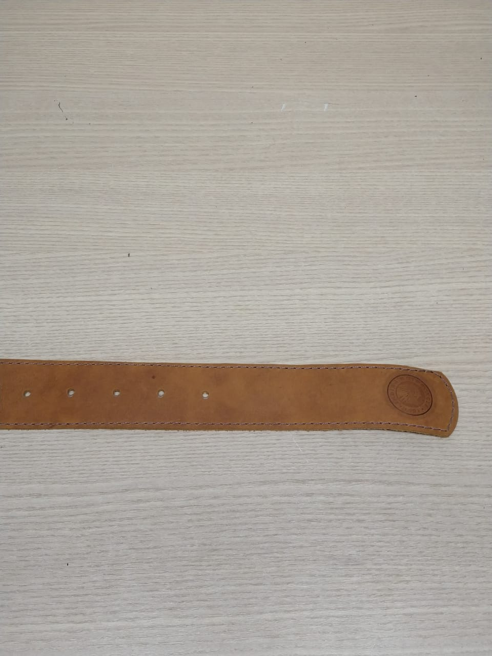 Cinto de Couro - Motivo Indian - Caramelo - Mod 01 - 035/64105