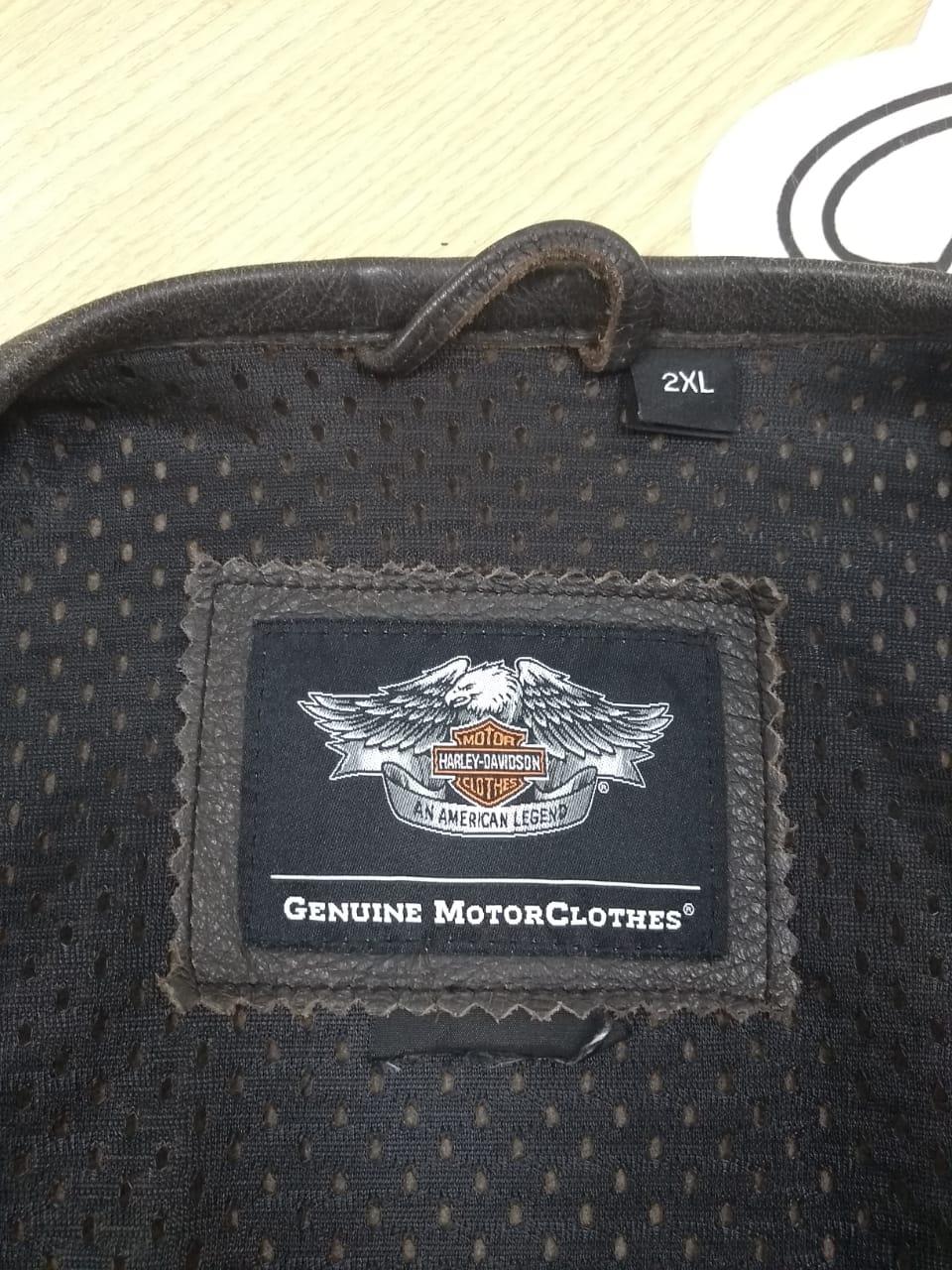 Colete de Couro Masculino - Harley-Davidson - Tam 2XL - Preto - 028/22961